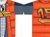"""Maglietta baseball anniversario """"Ritorno Futuro"""""""