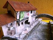 vecchia Milano Navigli...quando lavava mano... Riproduzione miniatura