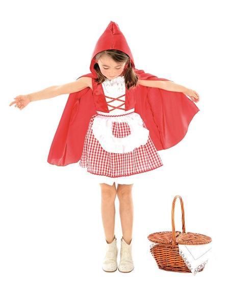 Costume da favola cappuccetto rosso bambina car