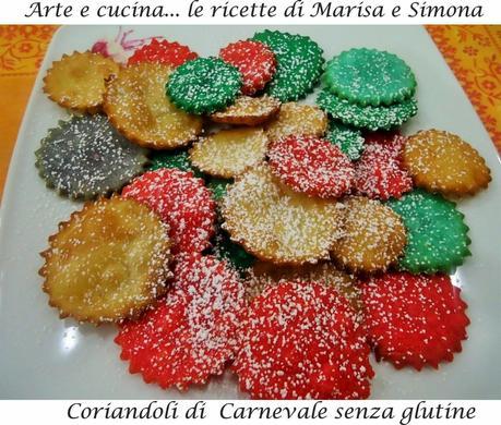 Coriandoli di Carnevale senza glutine