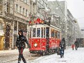 neve Febbraio, latte macchiato Starbucks l'aria Natale.