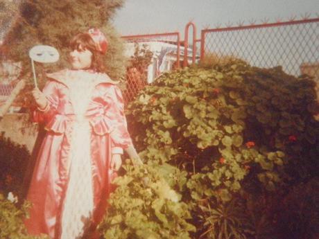 la maschera di carnevale (autoprodotta) e la storia di un vestito