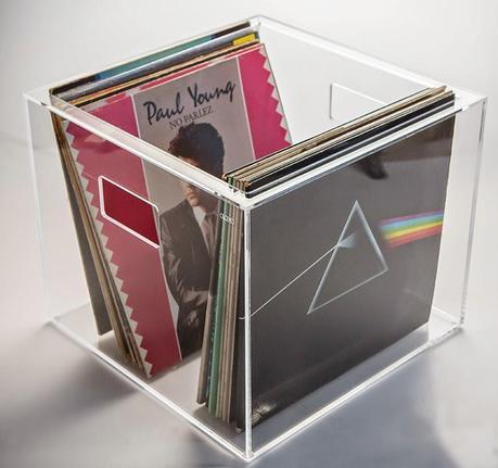 Contenitore porta dischi vinile 33 giri in plexiglass trasparente paperblog - Mobile porta dischi vinile ...