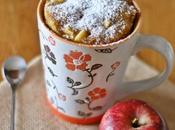 Torta tazza alle mele mandorle Apple almond cake
