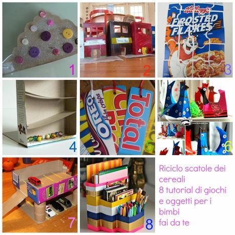 Riciclo scatole cereali 8 tutorial di giochi e oggetti for Creare oggetti utili fai da te