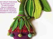 Crochet: GIPSY FRUIT PARADISE Opera Collettiva: FREE FORBIDDEN Abilmente OMAGGIO ALL'EXPO 2015 Milano