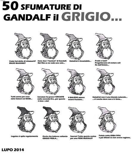 Le Sfumature di Gandalf