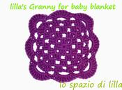 Facciamo insieme...la granny all'uncinetto copertina neonato Let's make together...the easy crochet baby blanket