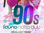 Sabato febbraio 2015 Regina Love 90`s Fauno Notte Club Sorrento (Na).