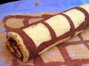 Rotolo cacao vaniglia crema alla nocciola