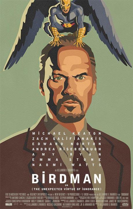 Birdman o (L'imprevedibile virtù dell'ignoranza) – A. G. Iñárritu [film]