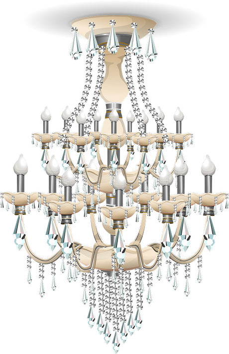 Dondolo.....dal lampadario (swing from the chandelier)