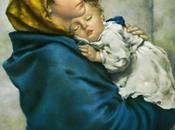 Schema punto croce: Madonna bambino (Ferruzzi)