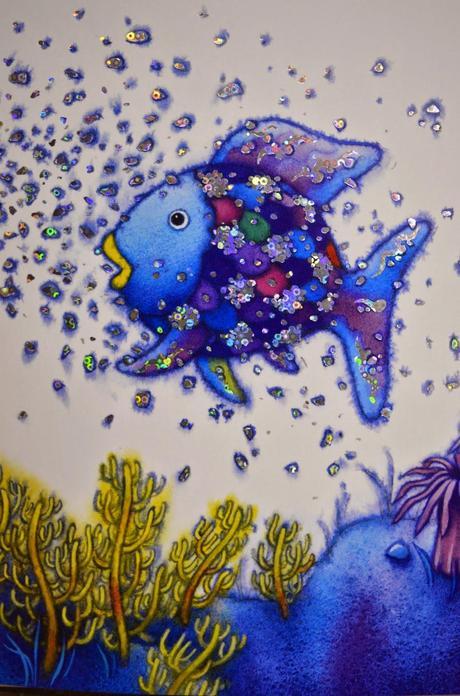 Arcobaleno e gli abissi marini m pfister paperblog for Disegni pesciolino arcobaleno
