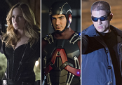 Arrow/The Flash Team-Up spin-off Brandon Routh, Caity Lotz, Wentworh Miller Victor Garber