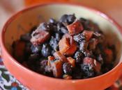 Frijoles negros epazote chorizo Fagioli neri Mexican black beans with