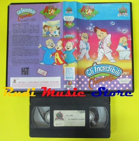 Alvin Rock 'n' Roll - le VHS del cartone animato