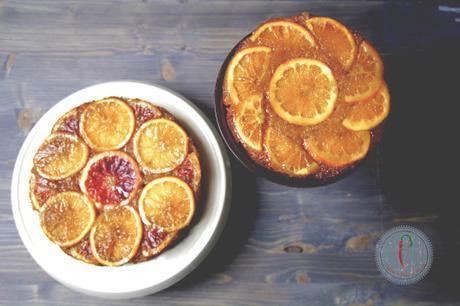 #Re-Cake 2.0 Winter Citrus Upside Down… Cake Torta Speziata Agli Agrumi