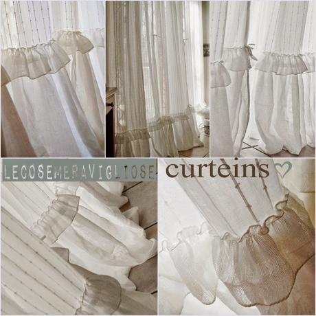 Tende Curteins Shabby Chic Paperblog