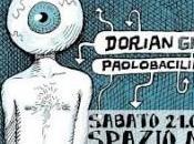 Milano, marzo, Dorian Gray disegni Paolo Bacilieri