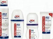 Borotalco lancia nuova linea deodoranti MILK Latte idratante