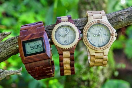Laimer orologi in legno da polso paperblog for Materiali impermeabili naturali