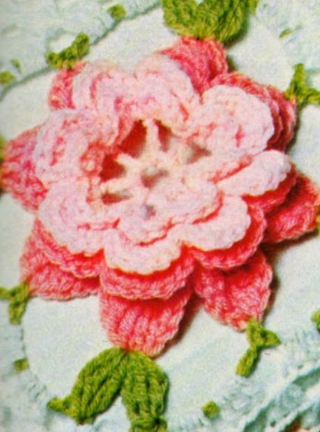 Copriletto All Uncinetto Con Le Rose D Irlanda Paperblog