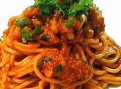 Spaghetti Sugo Cernia