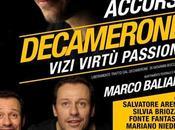 Decamerone. Vizi, virtù, passioni Stefano Accorsi. Teatro Ambra Jovinelli, febbraio marzo 2015
