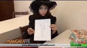 disegnare un corpo femminile manga