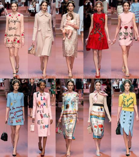 Dolce   Gabbana collezione Autunno Inverno 2015 - Paperblog a8b73d6a505