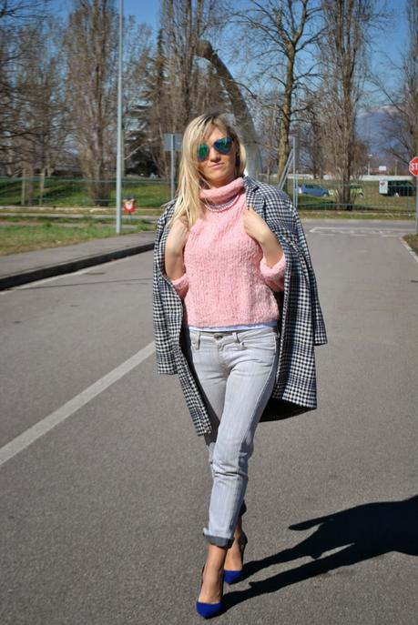 Color Block By FelyM.: OUTFIT GREY SKINNY JEANS,OVERSIZE