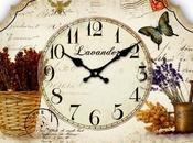 Schema punto croce: Orologio antico parete_20