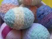 Lavoretti Pasqua: Decorare uova lana