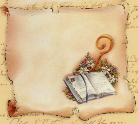 Schema Per Il Punto Croce Pergamena Per La Cresima Paperblog