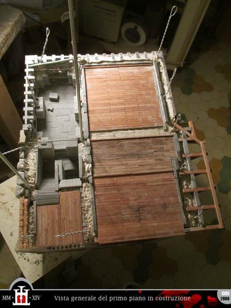 Costruzione 190 balconata lignea 2 pavimento del for Progetto del piano di costruzione