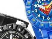 Warner Bros. Flik Flak insieme nuova collezione orologi Batman Superman