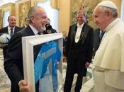 """Papa Francesco napoletano"". Parola Laurentiis"