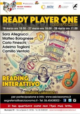 "19/27/28 Marzo. ""Ready Player One"" ripercorre la cultura pop anni '80"