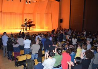 standing ovation Barcellona per Allevi