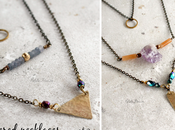 Layered necklaces part
