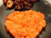 Senza Bimby, Tartare Cotta Cruda Salmone Quinoa rossa Pomodorini, Zucchine Gamberi