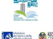 Subiaco celebra 550° anniversario della stampa italiana caratteri mobili