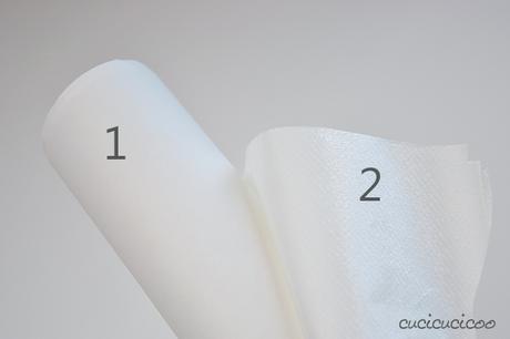 Come cucire un applique a macchina paper