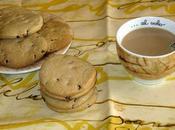 Biscotti farina avena gocce cioccolata