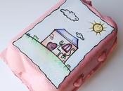 Tutorial: casetta nelle scatole delle uova (prima parte) dollhouse eggbox (part