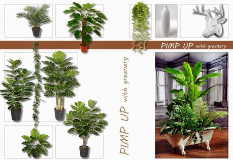 Piante artificiali per erredo interni e vetrine paperblog for Piante per interni