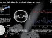 Rosetta trova l'azoto molecolare