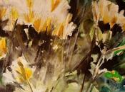 paint flowers,today perche' dipingere fiori, oggi
