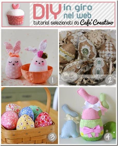 Tutorial pasqua fai da te coniglietti e uova paperblog - Idee cucito per la casa ...